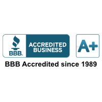 BBB Accredited business since 1989